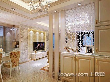 欧式玄关装修效果图,精雕细琢无与伦比的美!