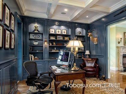 六款欧式风格书房,古典和现代全都有