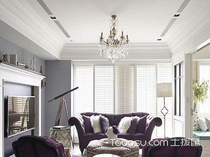 欧式风格客厅用什么灯?首选吊灯