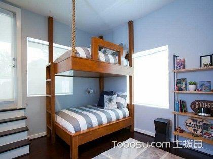 儿童房双层床装修,小空间也可以装出一片精彩天地!