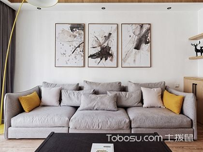 125平米装修效果图三室两厅,要想住的舒服还得敞亮才好