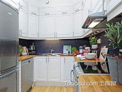 u型廚房臺面尺寸要多少,沒有標準只有合適的