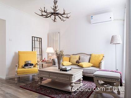 80平二居室装修案例,狭长户型也能装的好看