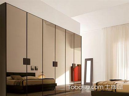 衣柜玻璃门,5种材质3大优点解析