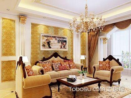 欧式沙发背景墙效果图,带你感受别出心裁的设计感!