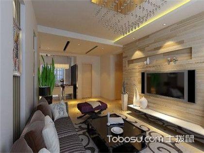 木工板电视背景墙,便于安装但不环保