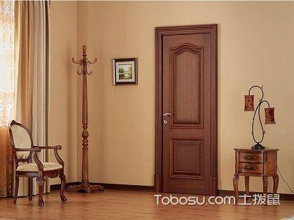 套装门图片欣赏,安装在家里美观又安全!