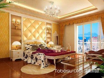 欧式床头背景墙效果图,这样装真是美翻了!