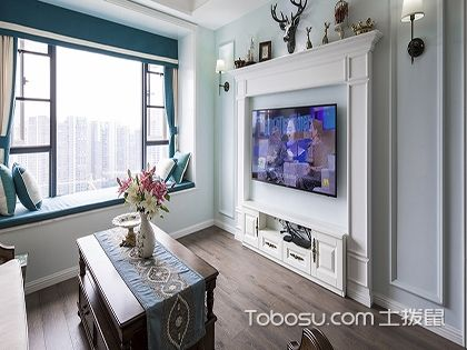86平米装修样板房图片,三室两厅一厨一卫