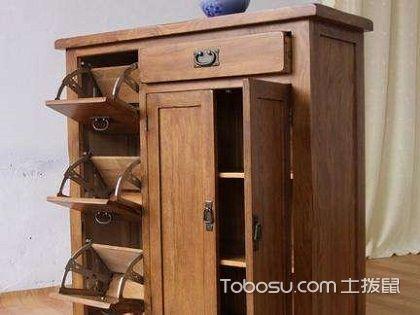 实木玄关鞋柜,装修必备家具