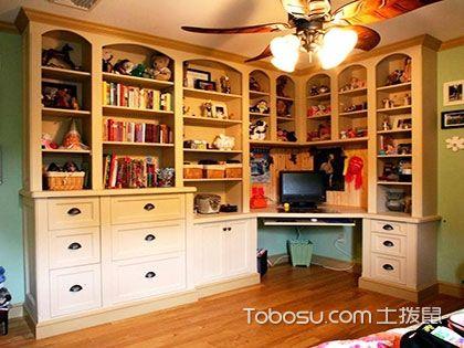 这几套书桌书架效果图,可以成为你为孩子挑选书桌书柜的参考