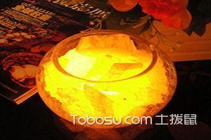 晶体石膏灯