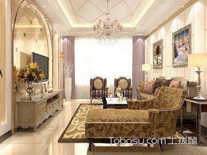 欣赏85平米装修欧式效果图,学会装饰美好家园