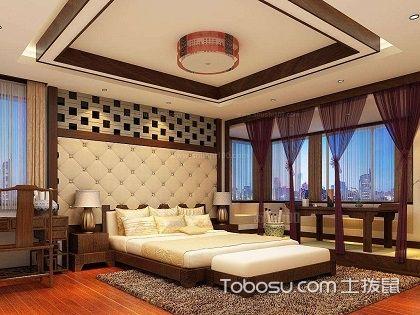 欣赏卧室吊顶图片,学会装饰温馨卧室