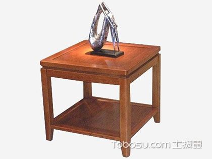 實木角幾風格介紹,家里靈活移動的置物架