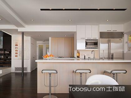 開放式廚房隔斷設計,讓家居空間更通透