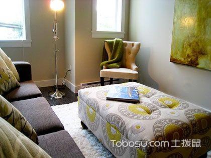客廳裝修美不美,選好角幾擺設很重要