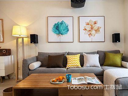 现代简约三居室装修,简单的设计才经得起时间的检验