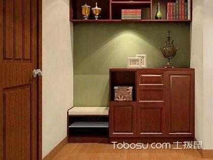 玄关柜子效果图展示,兼具美观与实用的设计!