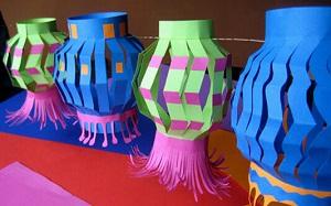 【手工花灯】传统手工花灯,传统手工花灯有哪些,制作,图片