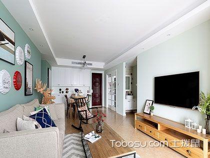120平米三居室装修日记:带点混搭风的现代装修雅致又简约