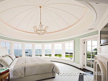 卧室吊顶设计风格大全,卧室天花板很有装修潜力