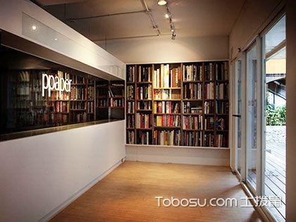 入门玄关实木书架书柜效果图,把玄关好好利用起来