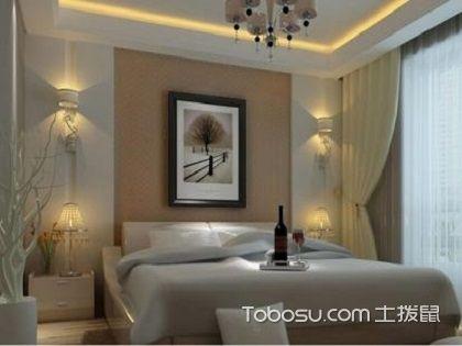 主卧室墙纸颜色风水,营造浪漫温馨的休息氛围