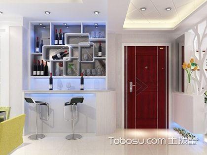 家装酒柜效果图欣赏,让居室更加浪漫有情调!