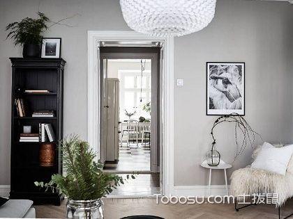 84平米二居室装修样板房,打造不一样的欧式风情!