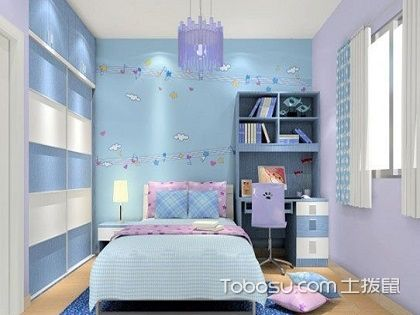 儿童房装修方案赏析,给孩子打造最温暖的家!