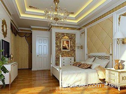 卧室天花板吊顶效果图,装出别具一格的睡眠空间!