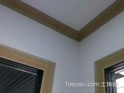 顶角线尺寸,房屋顶角线如何施工