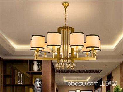 客厅吊灯选择什么尺寸,具体问题还得具体分析!