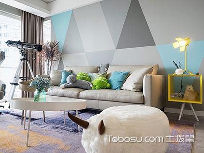 115平三居室装修效果图欣赏,过简约风的精致生活