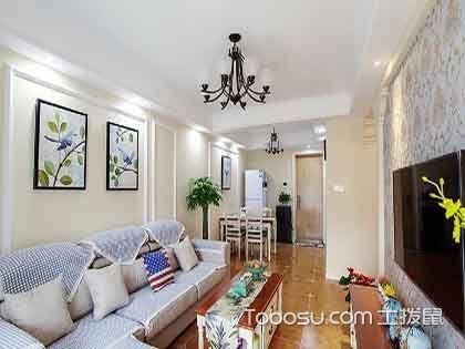 80平三居室装修设计技巧,连走廊都打了柜子!