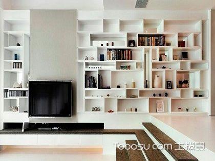 客厅书架设计效果图,随时随地畅游在书的海洋!