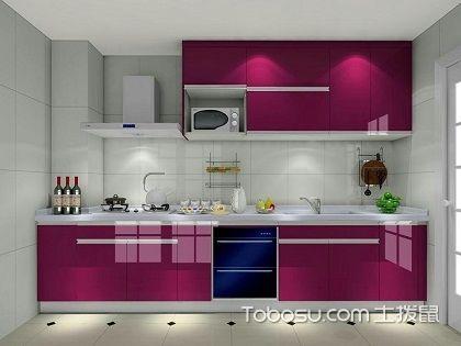 一字型厨房设计,简洁明快的烹饪天地!