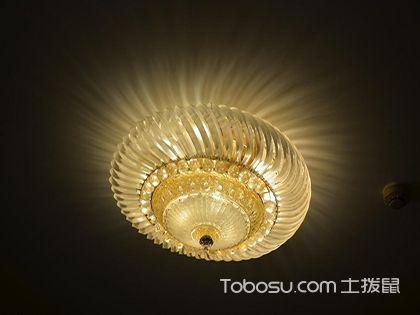 灯饰安装原则,不同场合的灯具应该注重什么