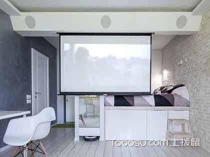 40平一居室装修效果图,充满个性的文艺范小居室!