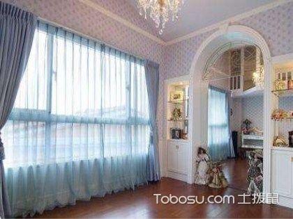 法式风格窗帘特点,极具浪漫气息