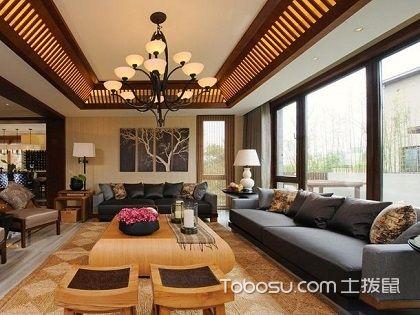 中式天花板吊顶效果图,美美的中国风
