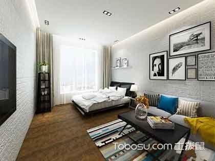 30平米一居室装修图,麻雀虽小五脏俱全的设计!