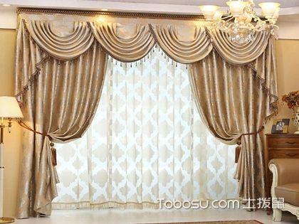 欧式风格窗帘搭配技巧,颜色搭配是关键