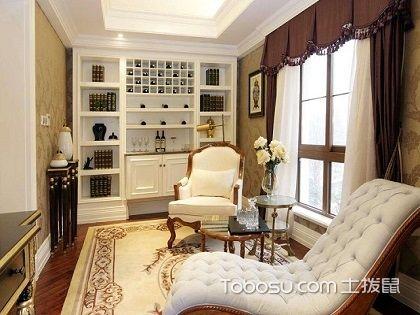 欧式风格书房设计说明,轻松打造典雅韵味