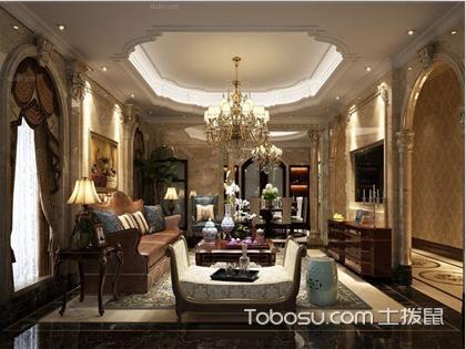 欧式风格客厅的特点有哪些?这几点你知道吗