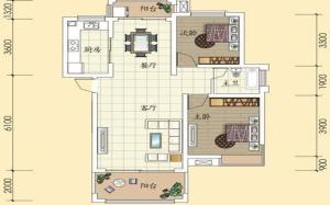 【大两房】大两房是什么意思,大两房好还是小三房好,改小三房,户型图