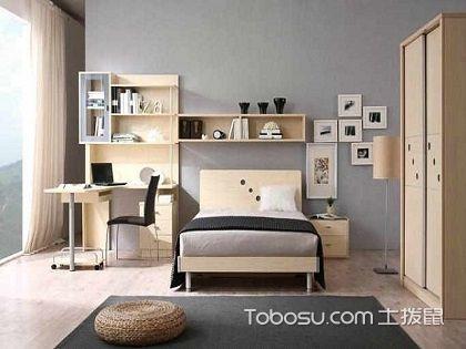床头书架效果图大全,让卧室书房合二为一