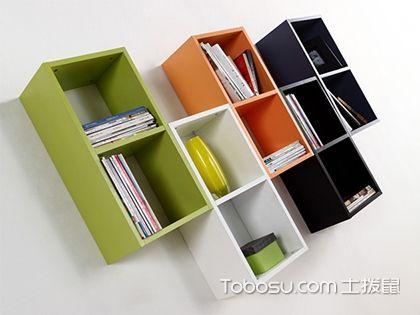 壁挂式书架图片展示,省空间又实用的书架类型!
