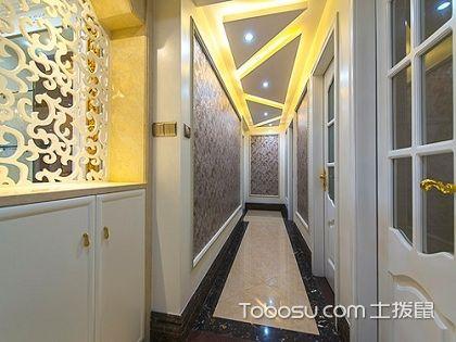 走廊吊顶造型图,向你展示不一样的走廊风格!